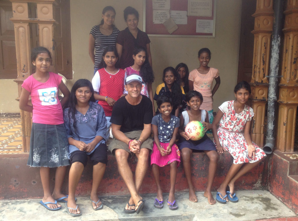 Justin and the girls